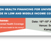 Symposium on Health Financing for UHC