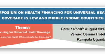 THE KAMPALA SYMPOSIUM STATEMENT ON HEALTH FINANCING FOR UNIVERSAL HEALTH COVERAGE IN LOW AND MIDDLE INCOME COUNTRIES