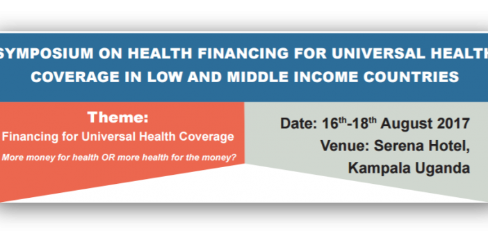 Symposium on Health Financing for UHC Updates and Information