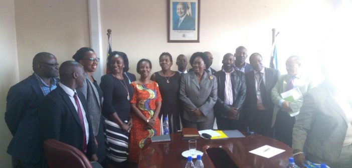 SPEED with other partners Engage The Speaker of Parliament of Uganda on Mass Action against Malaria