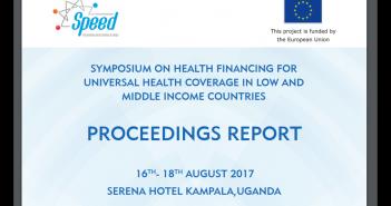 Health Financing Symposium 2017 Report