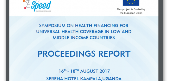 Health Financing Symposium 2017 Report
