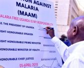 President Museveni Launched the Mass Action Against Malaria (MAAM) Initiative to galvanize efforts towards eliminating malaria in Uganda.