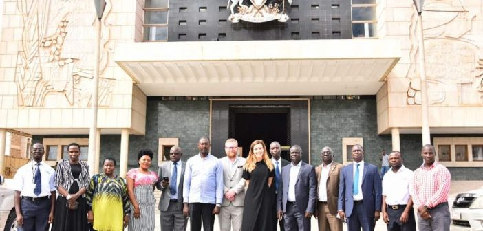 """SPEED members join the Uganda Parliamentary Forum on Malaria (UPFM) to welcome """"Malaria Must Die"""" Ambassador -Ms. Charlie Webster from the United Kingdom:"""