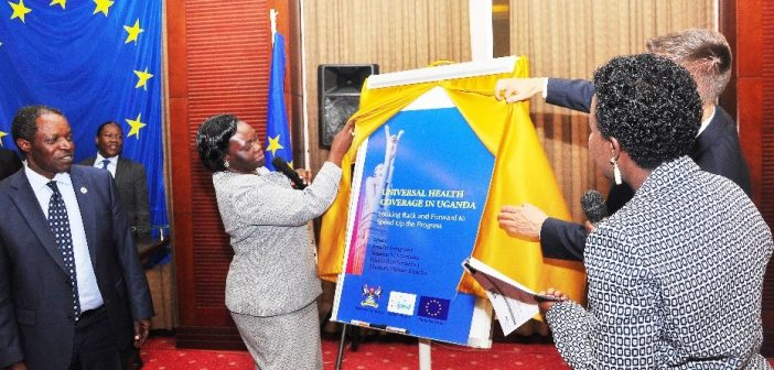 Through European Union funding, Makerere University launches ground-breaking book on Universal Health Coverage in Uganda