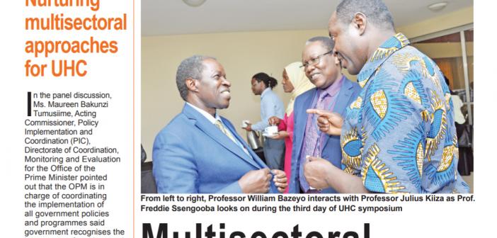UHC Symposium Bulletin – Day 3