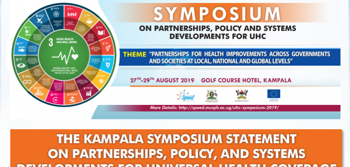 The Kampala Symposium Statement on Partnerships, Policy, and Systems Developments for Universal Health Coverage